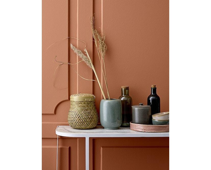 Bloomingville - Vase, Grün, Steinzeug - 1