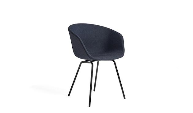 HAY - About A Chair AAC 27 - bezogene Sitzschale - Gestell weiß pulverbeschichtet - 1