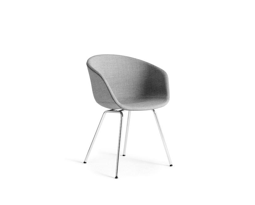 HAY - About A Chair AAC 27 - bezogene Sitzschale - Gestell Chrom - 1