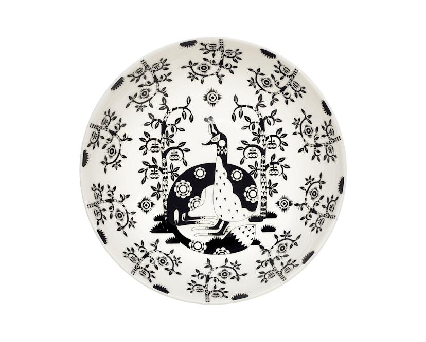 Iittala - Taika Teller, 22cm - schwarz - 1