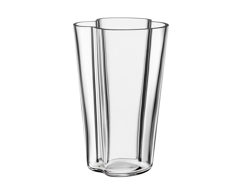 Iittala - Alvar Aalto Vase 22cm - klar - 1