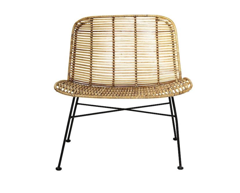 Bloomingville - Dom Chair, Natur mit Schwarz - 4