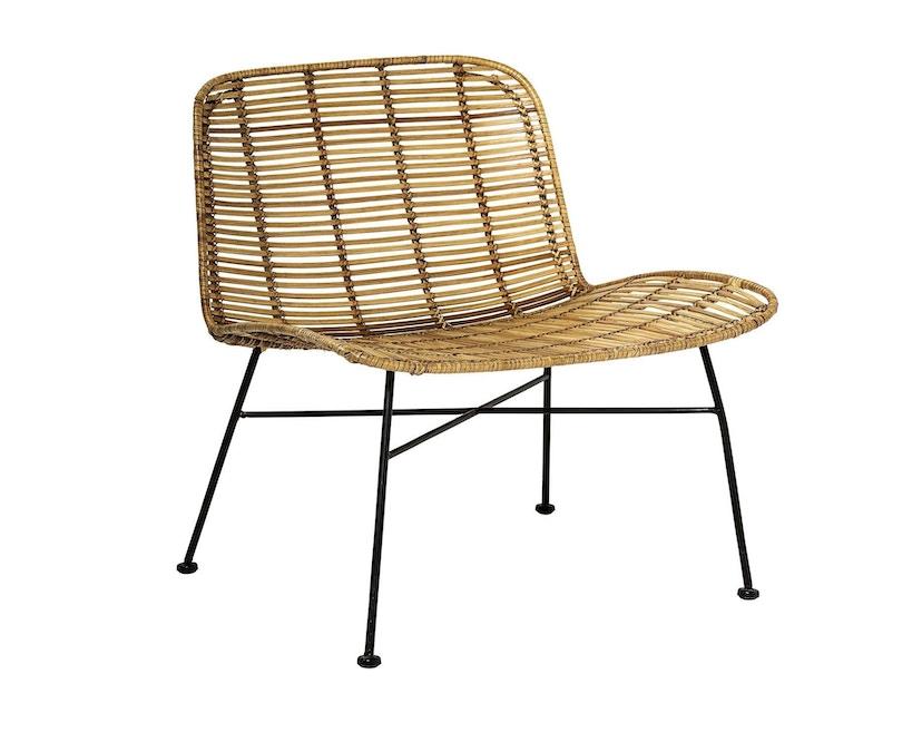 Bloomingville - Dom Chair, Natur mit Schwarz - 1