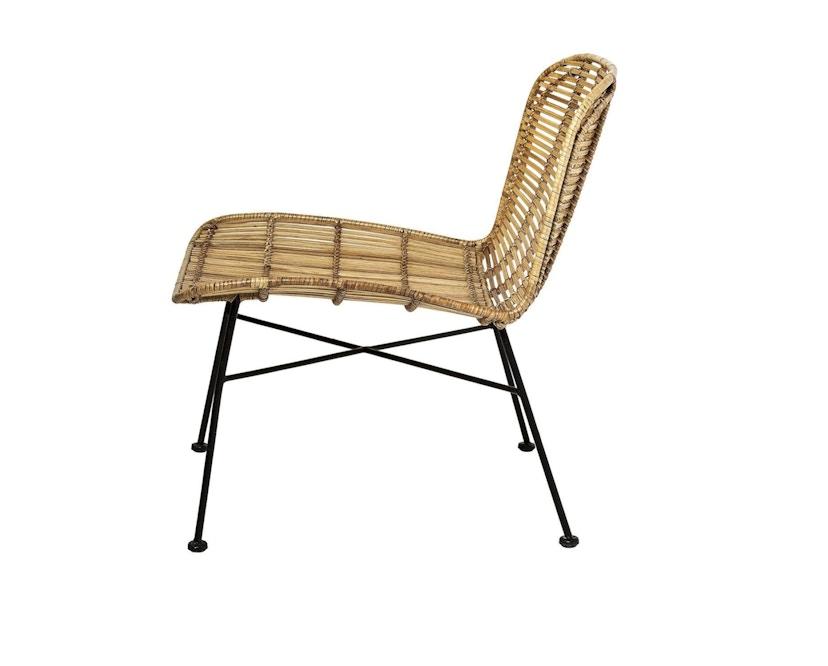 Bloomingville - Dom Chair, Natur mit Schwarz - 2
