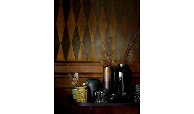 Bloomingville - Vase, Grün, Glas - 2