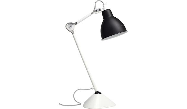 DCW éditions - LAMPE GRAS N°205 weiß - schwarz - rund - 1
