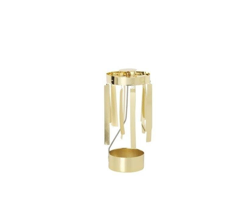 ferm LIVING - Tangle Spinning Teelichthalter - gold - 2
