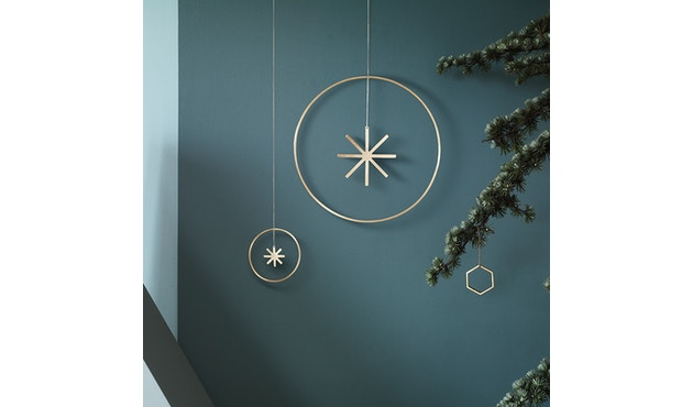 ferm LIVING - Winterland Messingstern - S - 3