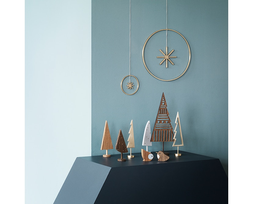 ferm LIVING - Winterland Messingstern - 2