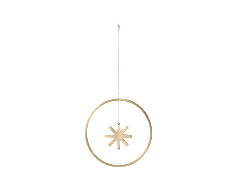ferm LIVING - Winterland Messingstern - S - 2
