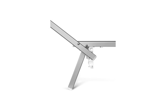 Jan Kurtz - Rimini Classic Sonnenliege - Gestell eloxiert - weiß - 9