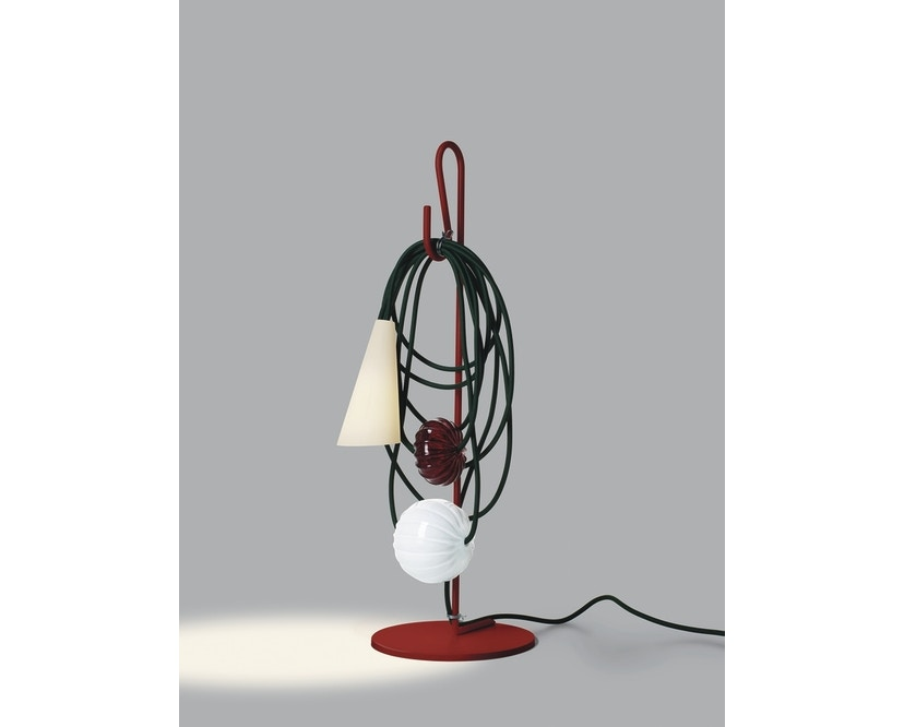 Foscarini - Filo Tischleuchte - rot/grün - 1