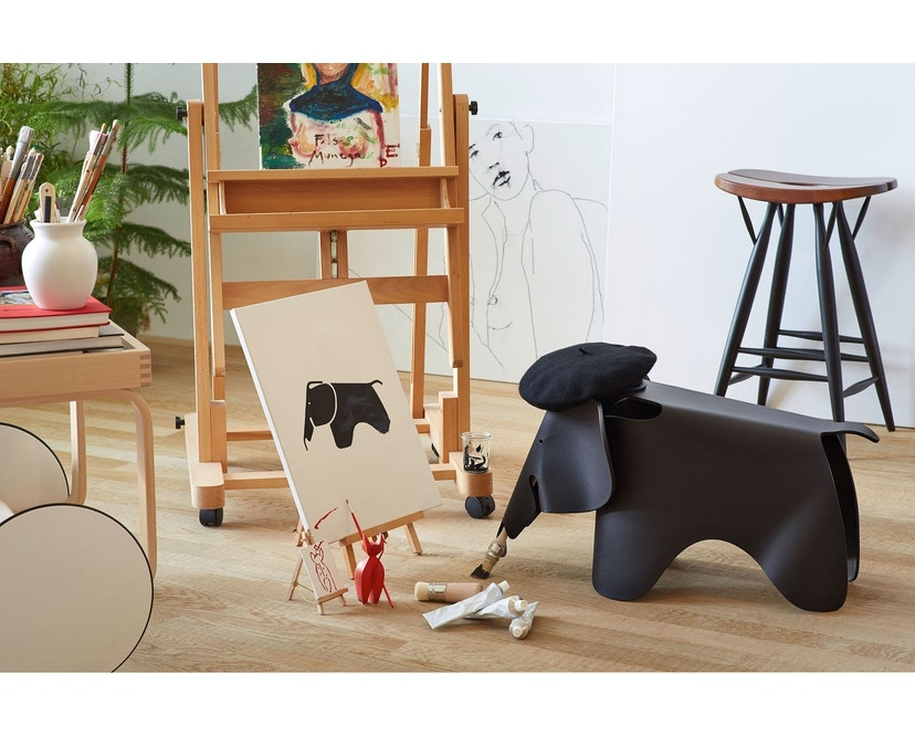 Vitra - Eames Elephant - tiefschwarz - 12