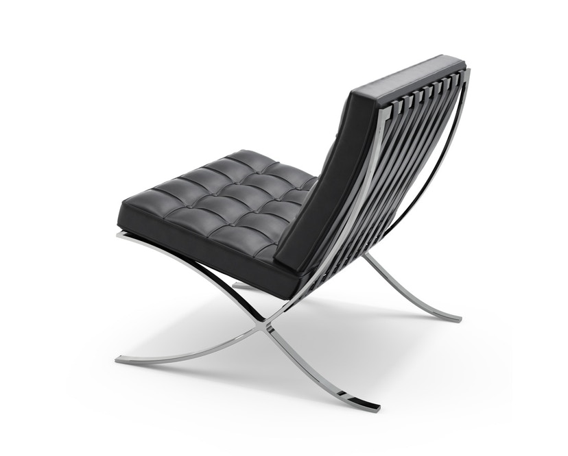 Knoll International - Mies van der Rohe Barcelona Sessel - Black - Relax version - 0
