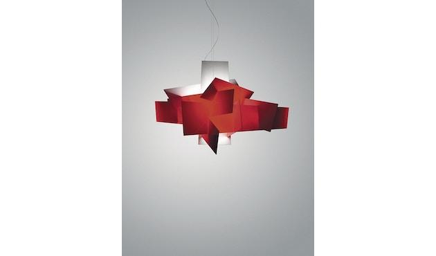 Foscarini - Big Bang hanglamp - rood - Ø96 x 66 cm - Halogeen - 1