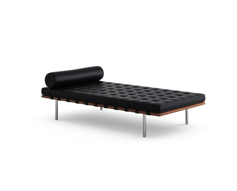 Knoll International - Chaise longue Mies van der Rohe Barcelona  - Volo Black - noir - relax - 1