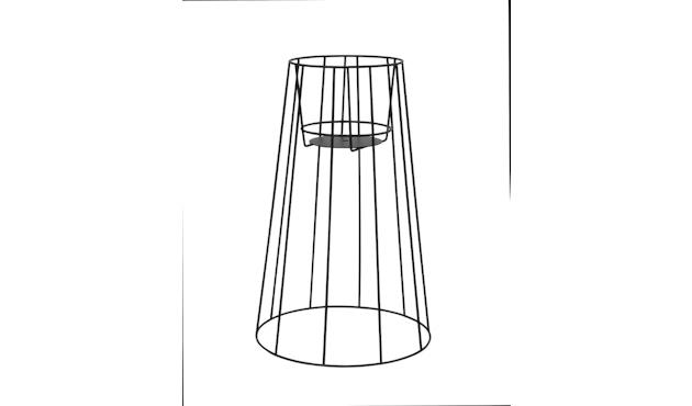 OK Design - Cibele Pflanzenständer - Black - Large - 1