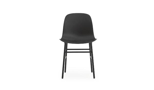 Normann Copenhagen - Form stoel met metalen frame - zwart - 2