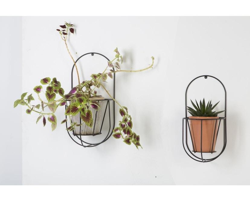 OK Design - Cibele Pflanzen Wandhalter - Black - Small - 5