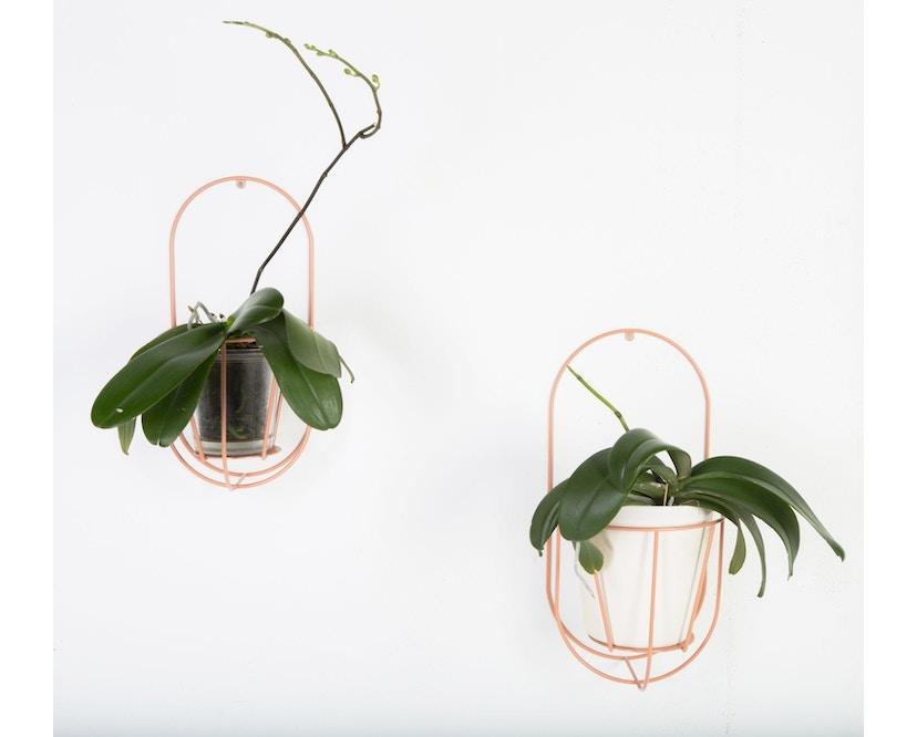 OK Design - Cibele Pflanzen Wandhalter - Black - Small - 4
