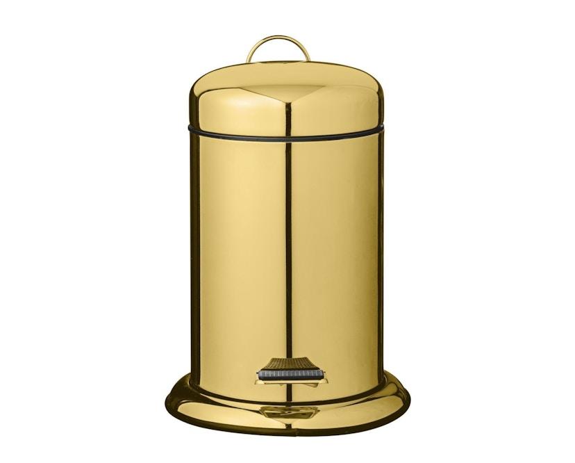 Bloomingville - Mülleimer, Gold, Metall - 1