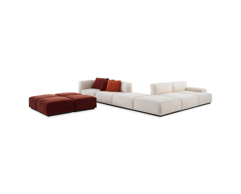 Cassina - 271 Mex Cube Sofa - beige meliert - 8