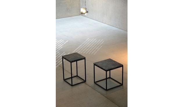 Jan Kurtz - Pizzo Marmor Beistelltisch - Guatemala/schwarz - hoch - 5