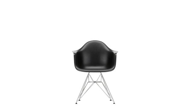 Vitra - DAR mit Sitzpolster - deep black - Bezug nero - Sitzhöhe 46 cm - 3