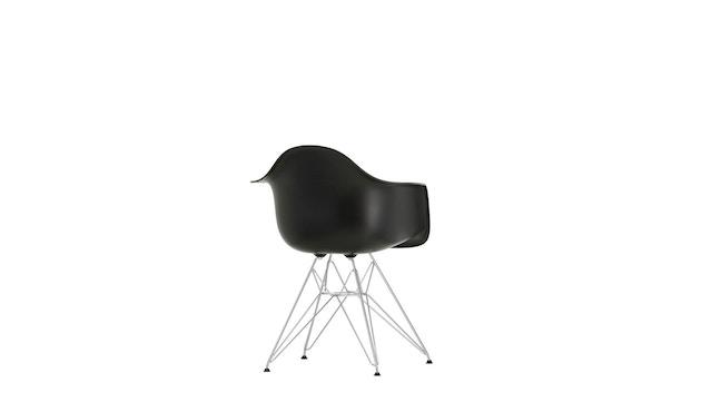 Vitra - DAR mit Sitzpolster - deep black - Bezug nero - Sitzhöhe 46 cm - 7