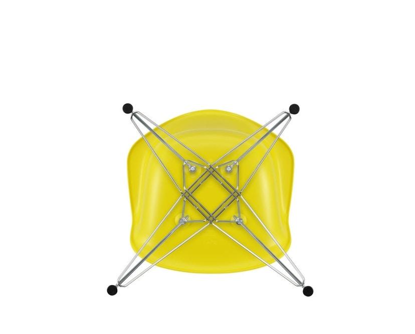 Vitra - DAR mit Sitzpolster - sunlight - Bezug dunkelgrau - Sitzhöhe 46 cm - 5