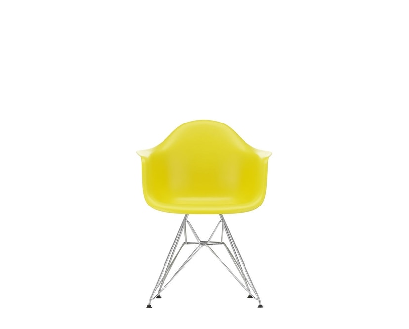 Vitra - DAR mit Sitzpolster - sunlight - Bezug dunkelgrau - Sitzhöhe 46 cm - 3