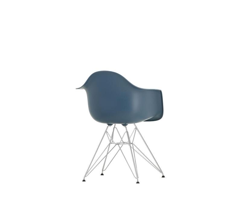 Vitra - DAR mit Sitzpolster - sea blue - Bezug dunkelgrau - Sitzhöhe 46 cm - 7