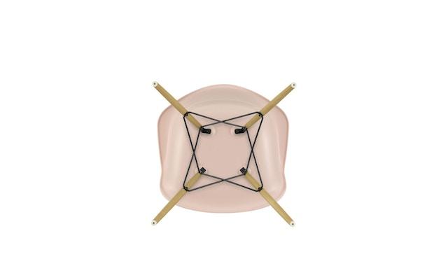 Vitra - DAW mit Sitzpolster - Gestell Esche - pale rose - Sitzhöhe 46 cm - 3