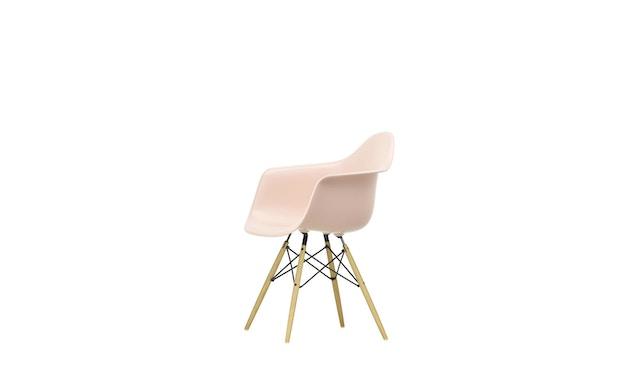 Vitra - DAW mit Sitzpolster - Gestell Esche - pale rose - Sitzhöhe 46 cm - 4