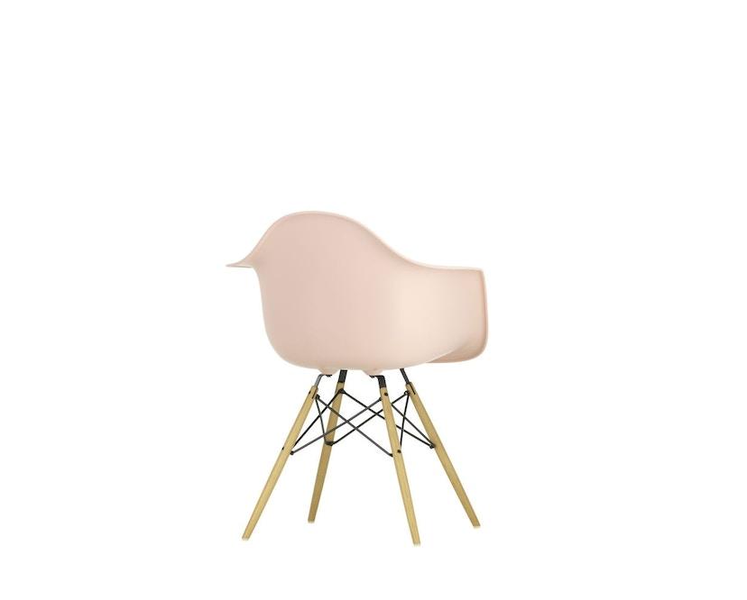 Vitra - DAW mit Sitzpolster - Gestell Esche - pale rose - Sitzhöhe 46 cm - 5