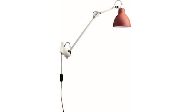 DCW éditions - LAMPE GRAS N°222 Wandleuchte weiß - rot - rund - 1