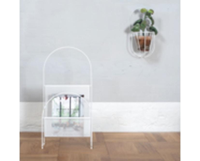 OK Design - Nouvelle Zeitungsständer - White - 3