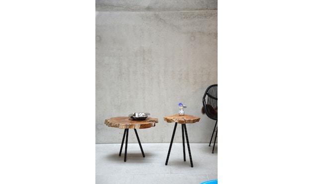 Jan Kurtz - Riff Top Tisch - weiß/natur - 47 x 60 - 2