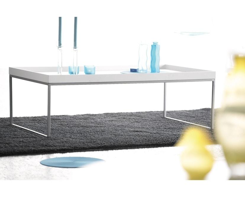 Jan Kurtz - Pizzo Beistelltisch - Esche weiß/weiß - 40 x 52 x 40 cm - 3