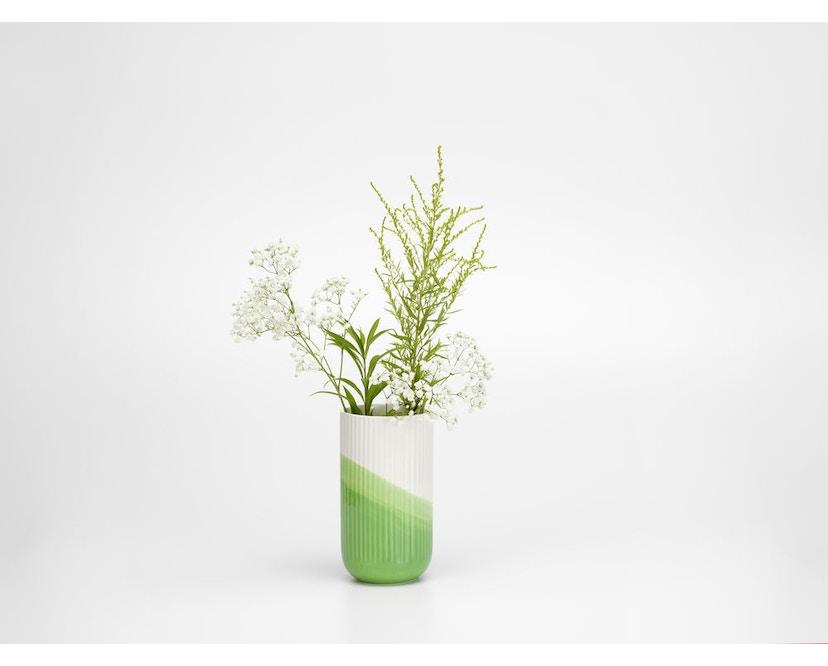 Herringbone Vase geriffelt