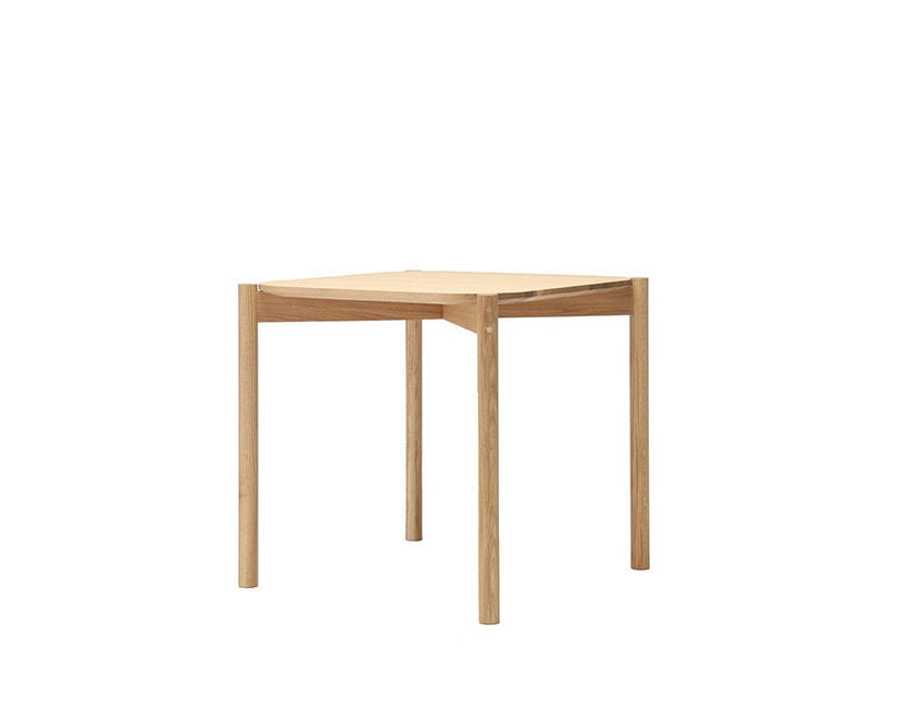 Karimoku New Standard - Castor Tisch quadratisch - Eiche - 2