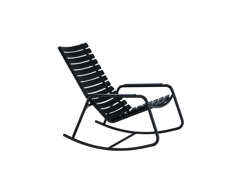 Houe - Clips schommelstoel - zwart - Aluminium armleuning - Aluminium zwart - 1