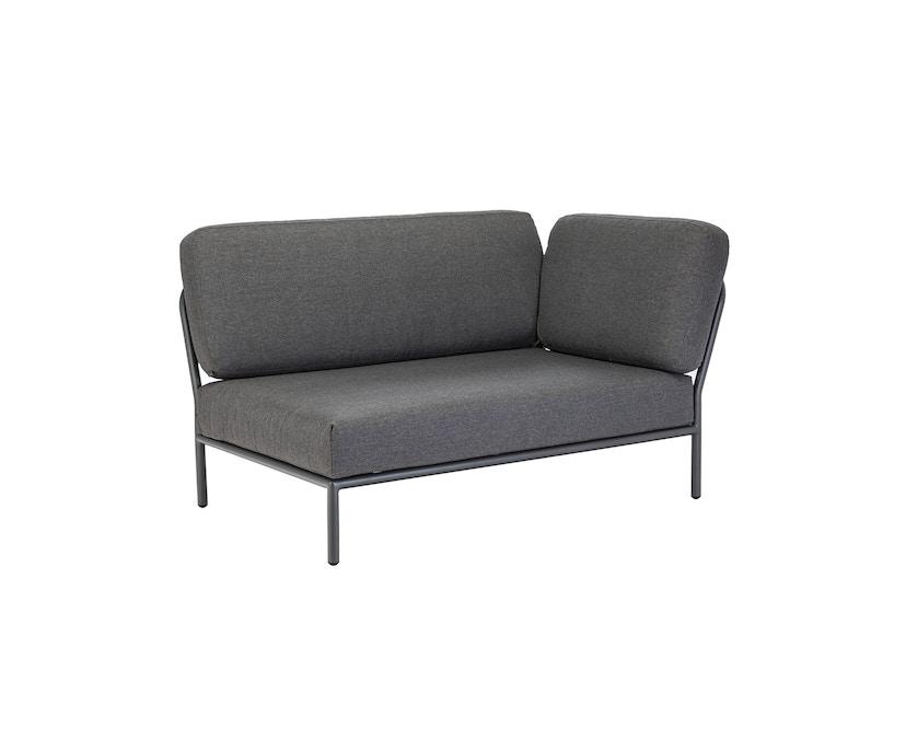 Houe - Level Lounge Sofa - grau - Armlehne rechts - 1