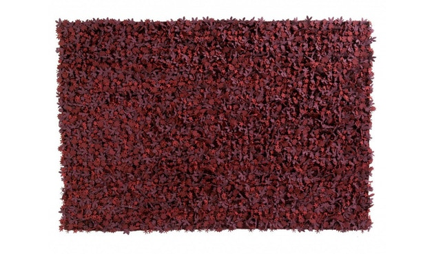 Nanimarquina - Little field of flowers vloerkleed - rood - 80 x 140 cm - 1