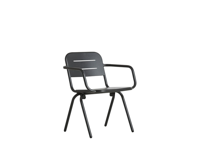 Woud - Ray Dining Stuhl - Charcoal black - 1