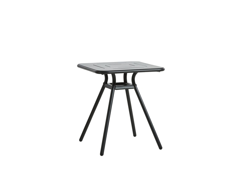 Woud - Ray Square Café Tisch  - Charcoal black - 1