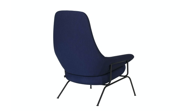 Hai Lounge Chair - Kvadrat Uniform Melange Ink_Hem_Luca Nichetto