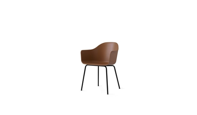 Menu - Harbour Dining Chair ohne Polster, Khaki - Black Steel - 2