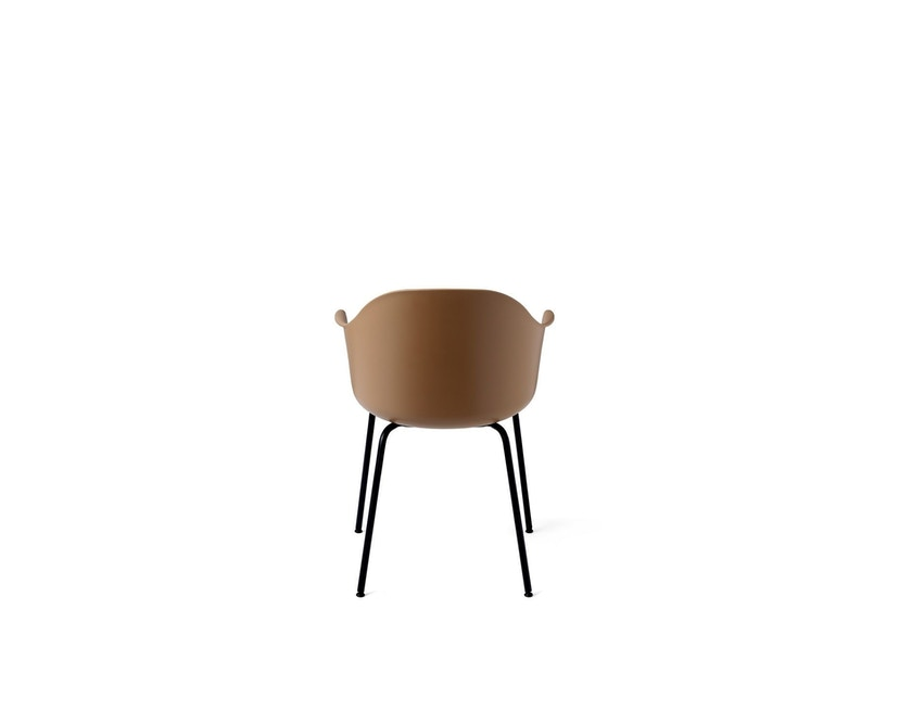 Menu - Harbour Dining Chair ohne Polster, Khaki - Black Steel - 4