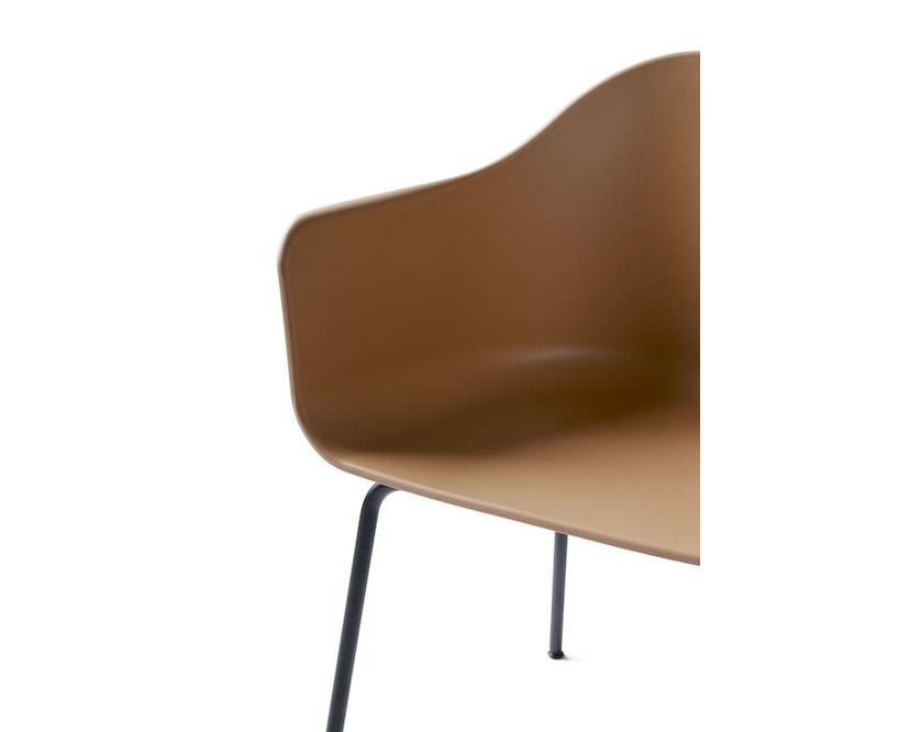 Menu - Harbour Dining Chair ohne Polster, Khaki - Black Steel - 6